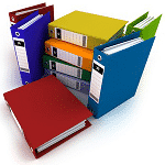 image of documentation folders